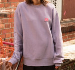 [W] W CONCEPT Unisex Archive Patch Sweatshirt atb173u(M/Purple)
