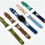[R] Romane Apple Watch Silicone Strap for 42-44mm