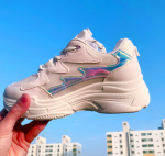 [R] OLDMICKEY 6cm Hologram Hill Shoes 1pair