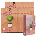 NOHJ Opuntia Humifusa Cotton Maskpack 28g  10 sheets Diary