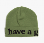 [R] HEIGHTS Have A Good Time Beanie #Olive 1ea