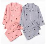 [Wedding] Mini Carrot Pure Cotton Couple Pajamas Set