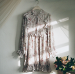 [R] MILKCOCOA Amelie Dress Line.Covent Floral Mini Dress 1ea