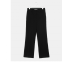 [R] 8SECONDS 19FW Black Basic Bootscut Slacks 1ea