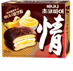 [F] ORION Choco Pie - Banana 12 packs