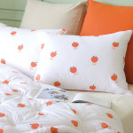 [W] THESPRINGHOME Peach Pillow Cover 1ea