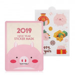 TONYMOLY 2019 New Year Sticker Mask 8ml
