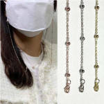 [R] Mask Loss Prevention Beads Beads Mask Strap Necklace