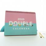 [R] 10X10 2020 Double Calendar L 1ea