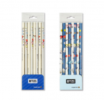 [R] BT21 Triangle Pencil 8EA 1set