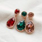 [R] 4XTYLE Swarovski Crystal 1pair