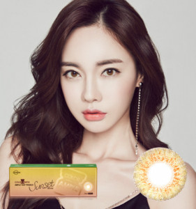 [LensMe] Color Ampoule Tequila Sunset Brown (1day/10p)