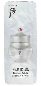 [S] Whoo Gongjinhyang:Seol Radiant White Moisture Cream 1ml*10ea