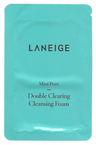 [S] LANEIGE Mini Pore Double Clearing Cleansing Foam 4ml*10ea