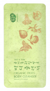 [S] WHAMISA Organic Fruits Body Cleanser 3ml*10ea