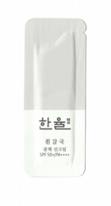 [S] HANYUL White Chrysanthemum Radiance Sunscreen Cream SPF 50+/PA +++ 1ml*10ea
