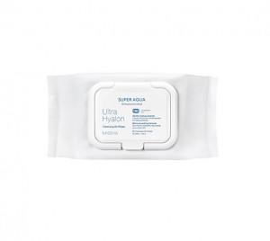[MISSHA] Super Aqua Ultra Hyalon Cleansing Oil Wipes 30 Sheets