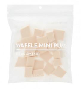[MISSHA] Waffle Mini Puff 20p