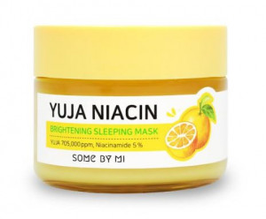 [SALE] SOME BY MI Yuja Niacin 30 Days Miracle Brightening Sleeping Mask 60g