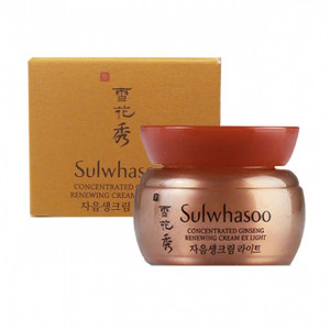 SULWHASOO Concentrated Ginseng Renewing Cream Light EX 5ml