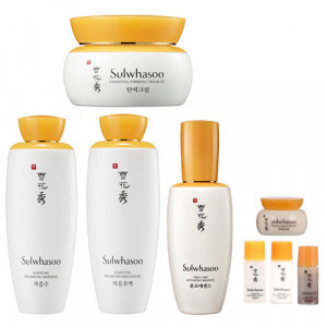 [L] SULWHASOO Essential Balancing Water 125ml + Essential Balancing Emulsion 125ml + First Care Activating Serum EX 90ml + Essential Firming Cream EX 75ml