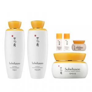 [L] SULWHASOO Essential Balancing Water 125ml + Essential Balancing Emulsion 125ml + Essential Firming Cream EX 75ml