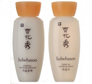 SULWHASOO Essential Balancing Water & Balancing Emulsion (15ml)
