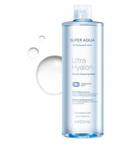 MISSHA Super Aqua Ultra Hyalon Micellar Cleansing Water 500ml