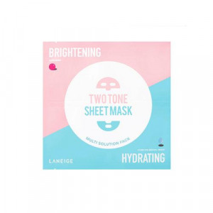 LANEIGE Two Tone Sheet Mask Brightening / Hydrating