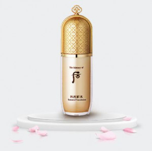 The History of Whoo Gongjinhyang Essential Foundation SPF30 PA++ 40ml