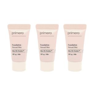 PRIMERA Natural Skin Foundation SPF15 PA+ 5ml*3ea(Natural Skin no. 21 vanilla )
