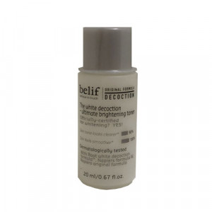 [L] BELIF The White Decoction-Ultimate Brightening Toner 20ml
