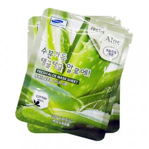 [SALE] 3W CLINIC Fresh Mask Sheet [Aloe] X10sheet