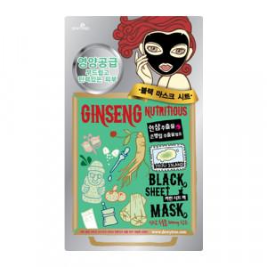 DEWYTREE Ginseng Nutritous Black Mask x10ea