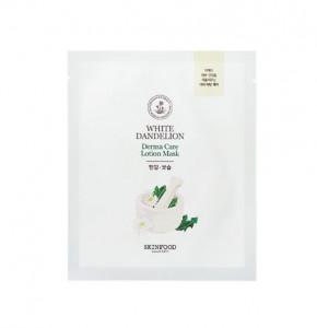 SKINFOOD White Dandelion Derma Care Lotion Mask 23g