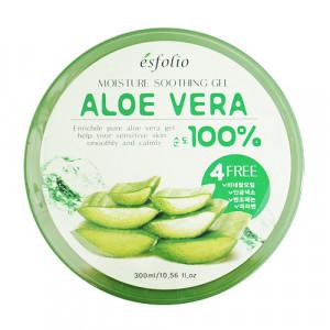 ESFOLIO Moisture Soothing Gel Aloe Vera 100% 300ml