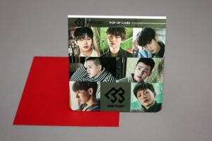 [S] BTOB Popup Card 1ea