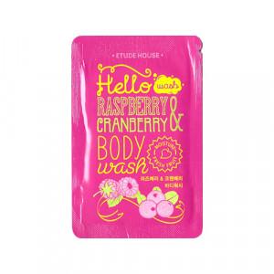 [S] Etude Hello Raspberry&Cranberry Body Wash 5ml*10ea
