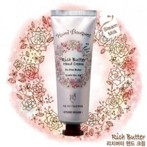 ETUDE HOUSE Hand Bouquet Rich Butter & Heel cream 100 ml.