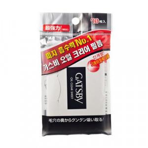 [Online Shop] GATSBY Oil Clear Sheet (70pcs)