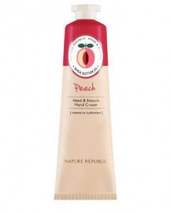 THE SAEM Hand & Nature Peach Big Size 100ml