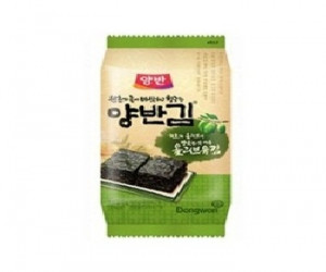 [F] SEAWEED YangBAN packed lunch laver [olive oil]