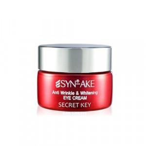[SALE] SECRETKEY Synake Anti Wrinkle & Whitening Eye Cream 15g
