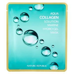 NATURE REPUBLIC Aqua Collagen Solution Marine Hydro Gel Mask 20g