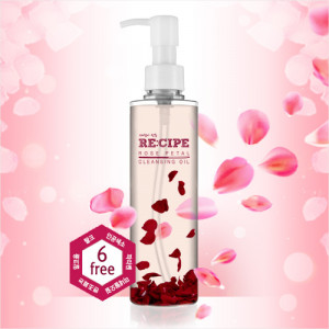 RE:CIPE Rose Petal Cleansing Oil 200ml