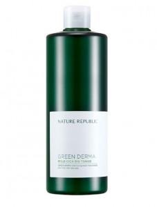 NATURE REPUBLIC Green Derma Mild Cica Big Toner 500ml