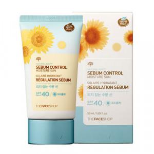 THE FACE SHOP Sun Eco Sebum Control Moisture Sun SPF40 PA+++ 50ml