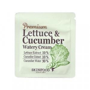 [S] Skinfood Premium lettuce & cucumber watery cream 1ml*10ea