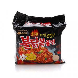 [F] SAMYANG Spicy Fried Noodle Buldak Bokkeummyun 140g*5ea