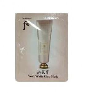 [S] Whoo Yeol : White Clay mask 2 ml*10ea